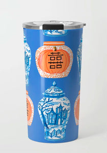 Spooky Chinoiserie Travel Tumbler