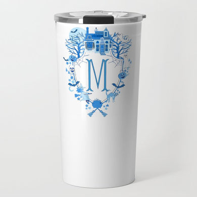 Halloween Crest Personalized Travel Tumbler