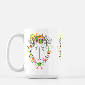 Halloween Crest Personalized Mug