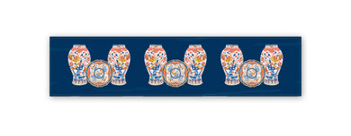 Imari Chinoiserie Table Runner, 2 Sizes Available