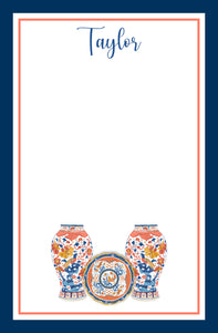 Imari Personalized Notepad, Multiple Sizes Available