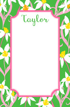 Load image into Gallery viewer, Daffodil Delight Personalized Notepad, Multiple Sizes Available