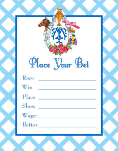 Kentucky Derby Betting Cards