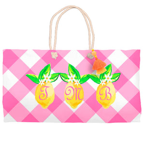 Lovely Lemon Tote Bag, Party Punch
