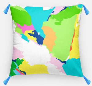 Multi Abstract Pillow