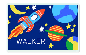 You're A Blast Outer Space Children's Personalized Laminated Placemat