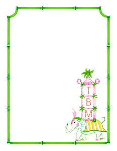 Pagoda Parade Notepad, Multiple Sizes Available