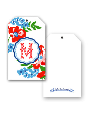 Patriotic Picnic Personalized Hang Tags