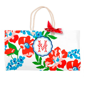 Patriotic Picnic Personalized Tote Bag