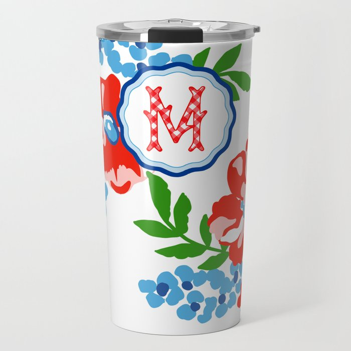 Patriotic Picnic Personalized Travel Tumbler
