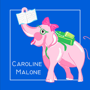Academic Elephant Personalized Sticker Labels