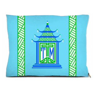 Royal Pagoda, Aquamarine Pet Bed, (3) Sizes Available
