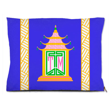 Royal Pagoda, Lapis, Pet Bed, (3) Sizes Available