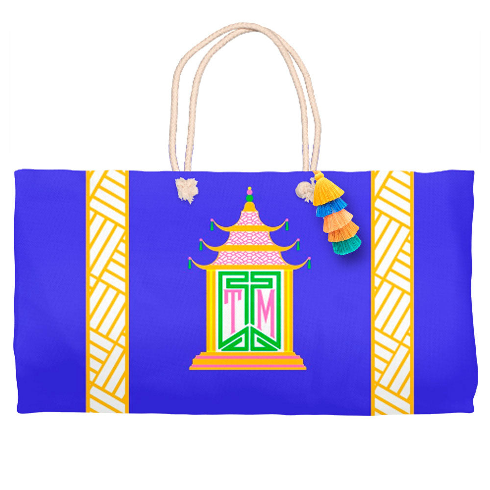 Royal Pagoda, Lapis, Tote Bag