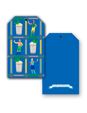 Jockeys & Juleps, Blue Ribbon, Hang Tags
