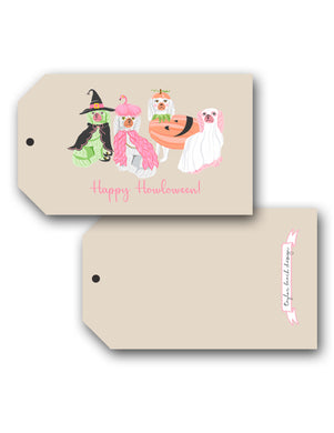 Spooky Staffies Halloween Hang Tags