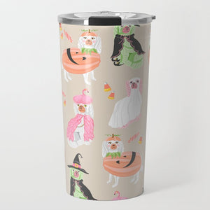 Spooky Staffies Halloween Travel Tumbler