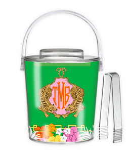 Enchanted Tiger Personalized Ice Bucket