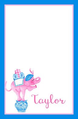 Trunk of Lovin' Elephant Valentine's Notepad, Multiple Sizes Available