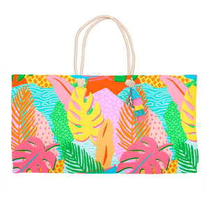 Vivid Jungle, Daybreak, Tote Bag