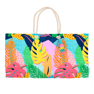 Vivid Jungle, Nightfall, Tote Bag