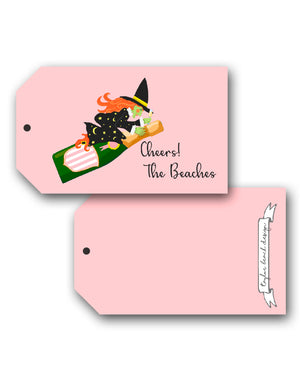 Witch's Brew Personalized Halloween Hang Tags