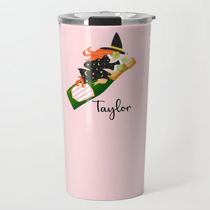 Witch's Brew Personalized Halloween Travel Tumbler