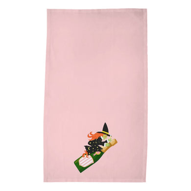 Witch's Brew Halloween Poly Twill Tea Towels, Set of 2