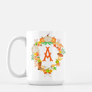 Fall Custom Crest Personalized Mug