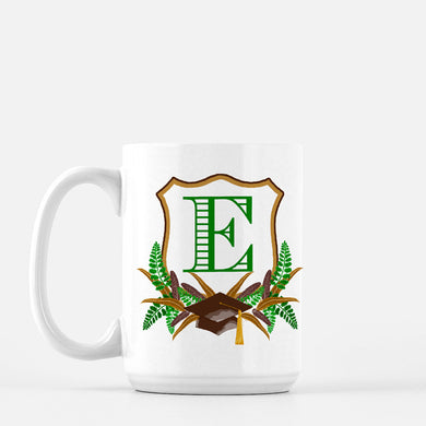 Boys' Graduation Crest Personalized Mug