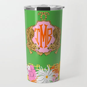 Enchanted Tiger Personalized Travel Tumbler