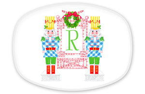 Nutcracker Sweet Personalized, Holiday Melamine Platter