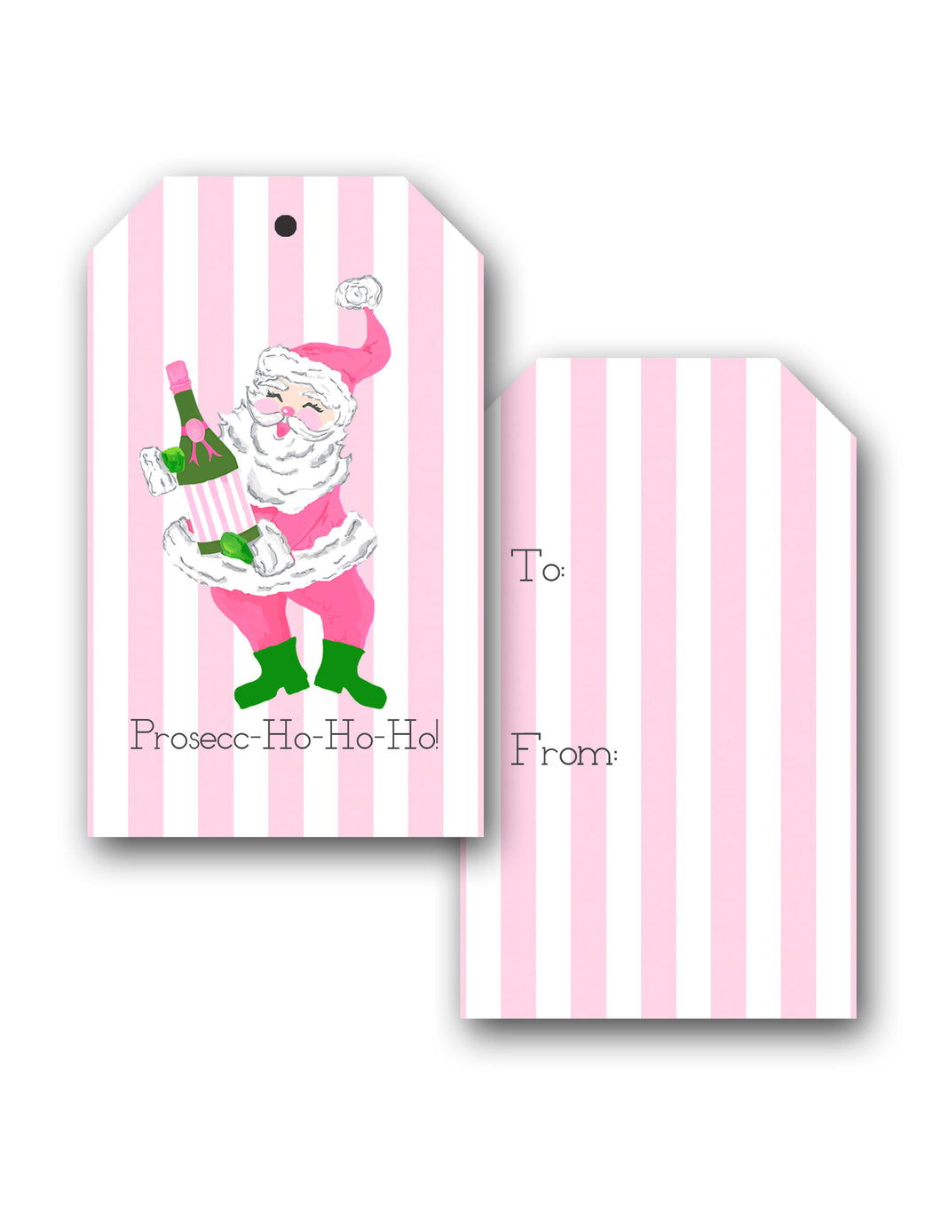*SALE* Prosecc-Ho-Ho-Ho Holiday Hang Tags