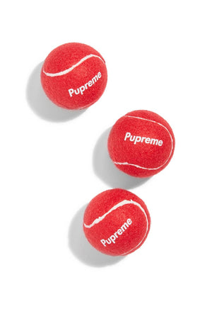PUPREME TENNIS BALLS (3-Pack) - Pupreme - STREETWEAR FOR DOGS