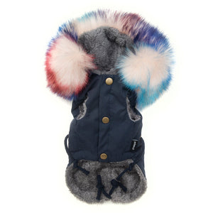 LUX PARKA MULTICOLOR - Pupreme - STREETWEAR FOR DOGS