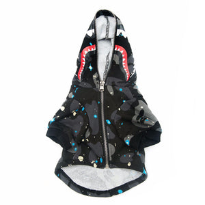 GALAXY HOODIE (FULL ZIP) - Pupreme - STREETWEAR FOR DOGS