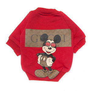 GIGI MICKEY SWEATER - Pupreme - STREETWEAR FOR DOGS