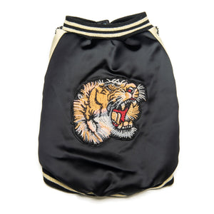 EYE OF THE TIGER BOMBERJACKET - Pupreme - STREETWEAR FOR DOGS