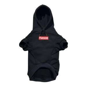 PUPREME BOX HOODIE - Pupreme - STREETWEAR FOR DOGS
