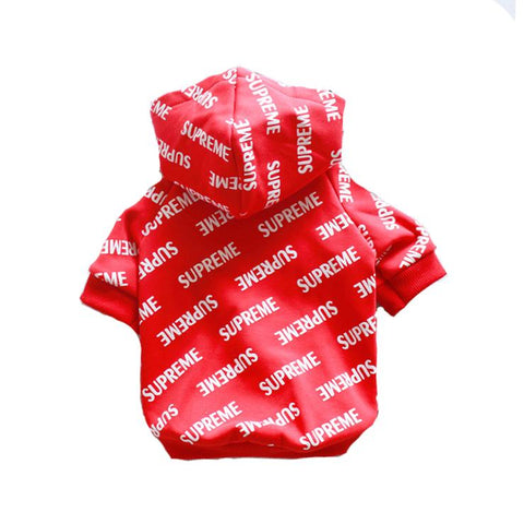 PUPREME ALL OVER LOGO HOODIE - PupremeNewYork