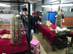 Inside Product Plating Factory