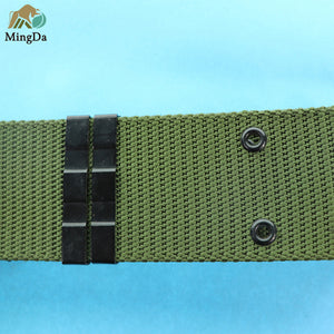 Military Tactical Belt With Alloy Buckle Clasp
