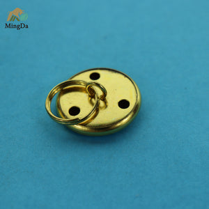 Brass Button Badge