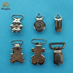 Bear Shape Suspender Clip