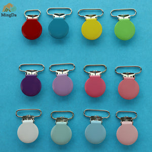 Colorful Enamel Suspender Clip