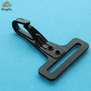 Black Steel Snap Hook
