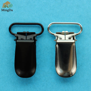 Matt Black Suspender Clip