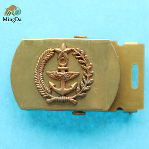 Brass Army Belt Buckle - BK007