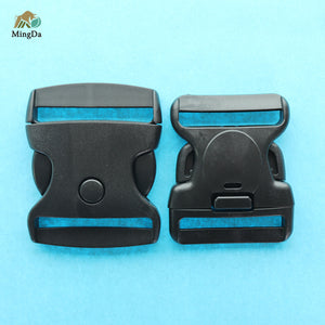 Plastic Military Belt Buckle With Lock Button