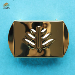 Bangladesh Military Belt Buckle-18K Gold Electronic Plating